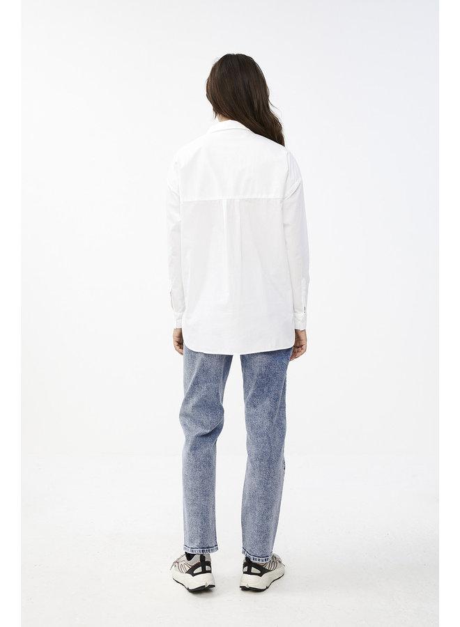 Blouse suzy organic blouse white