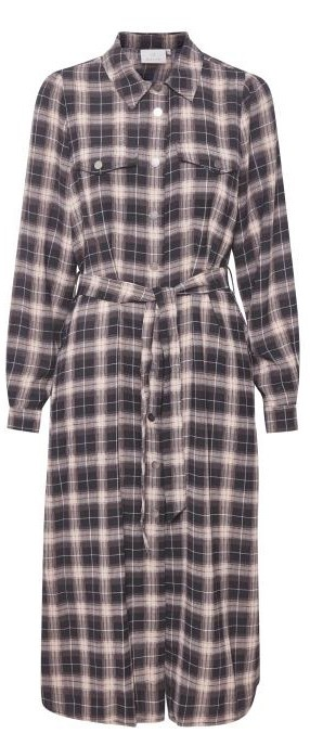 Jurk KAbabette Black Check-1