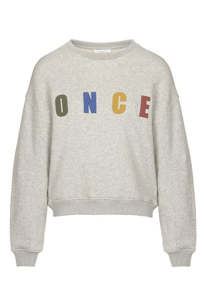 Trui roxy melee sweater grey