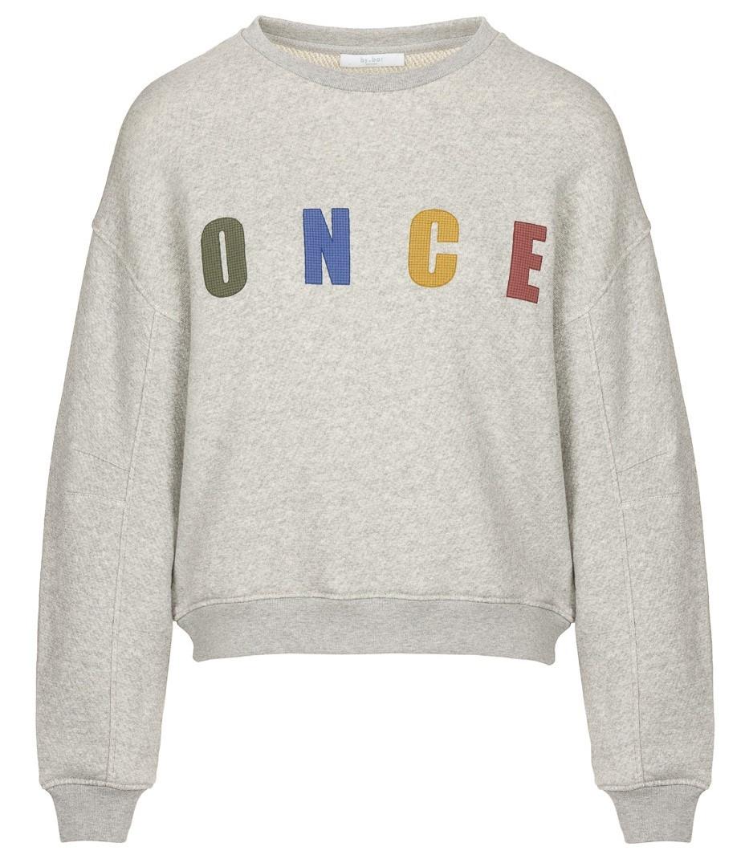 Trui roxy melee sweater grey-1