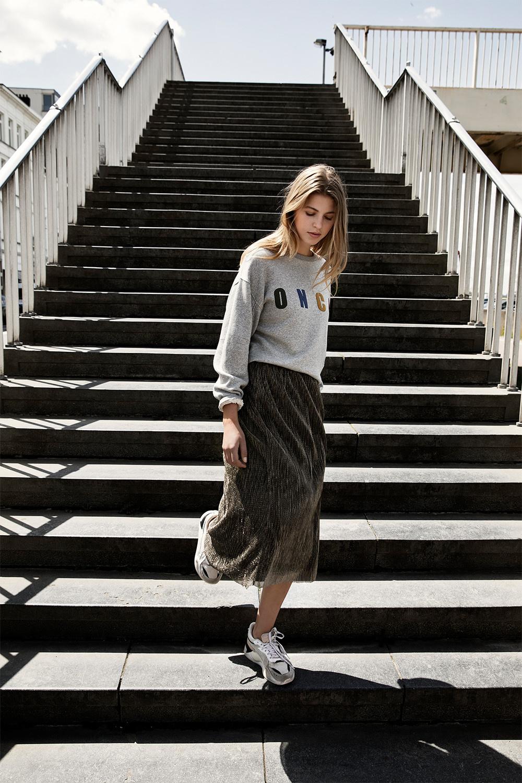 Trui roxy melee sweater grey-2
