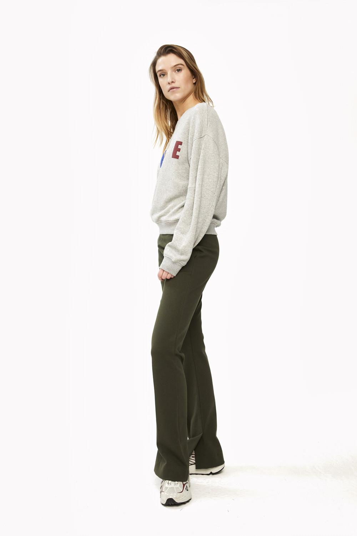 Trui roxy melee sweater grey-5