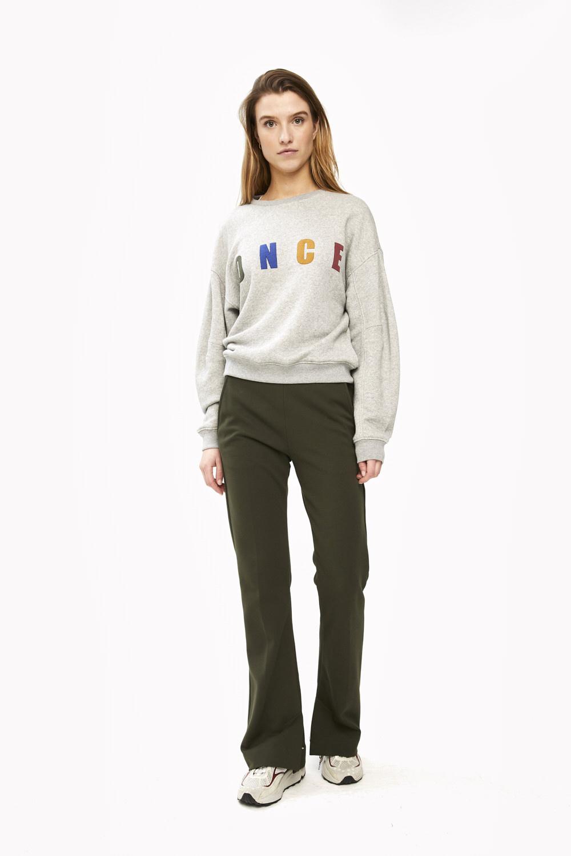 Trui roxy melee sweater grey-6