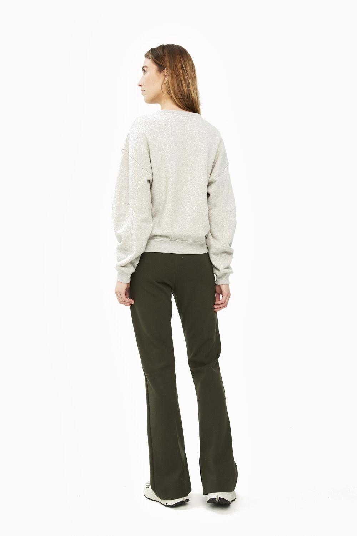 Trui roxy melee sweater grey-7
