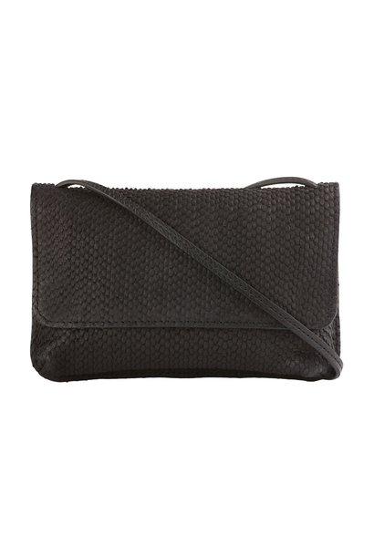 Tas Julie snake bag black
