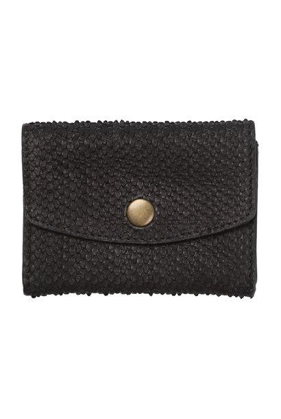 Tas Julie snake wallet black