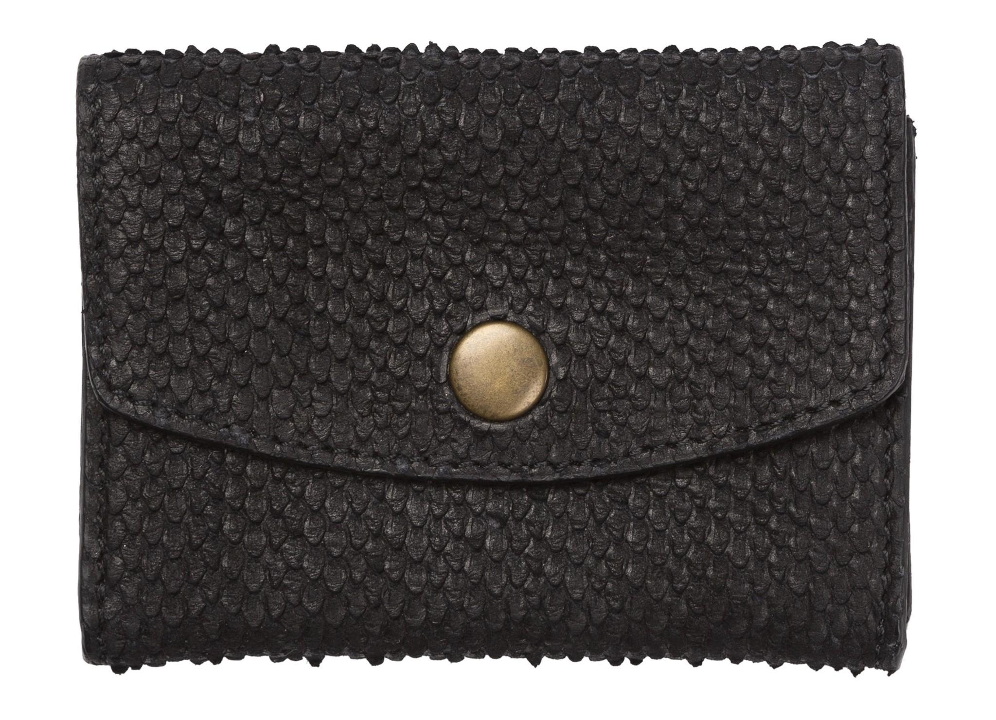 Tas Julie snake wallet black-1