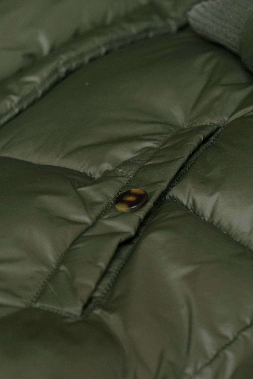 Jas jackie long coat - forest night-3