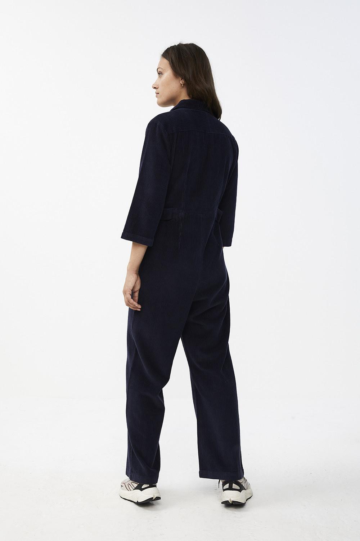 Jumpsuit cord suit indi grey-5