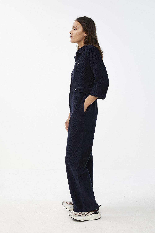 Jumpsuit cord suit indi grey-6