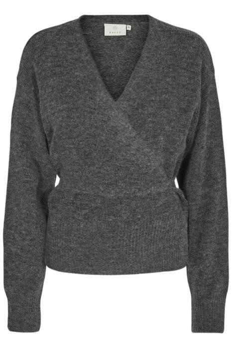 Vest Kawendy dark grey melange-1
