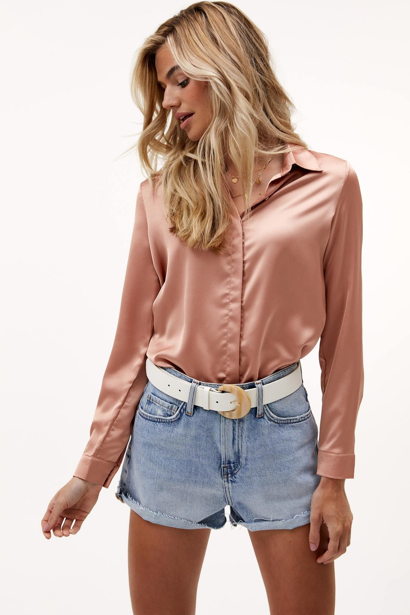 Blouse Nights in pink-1