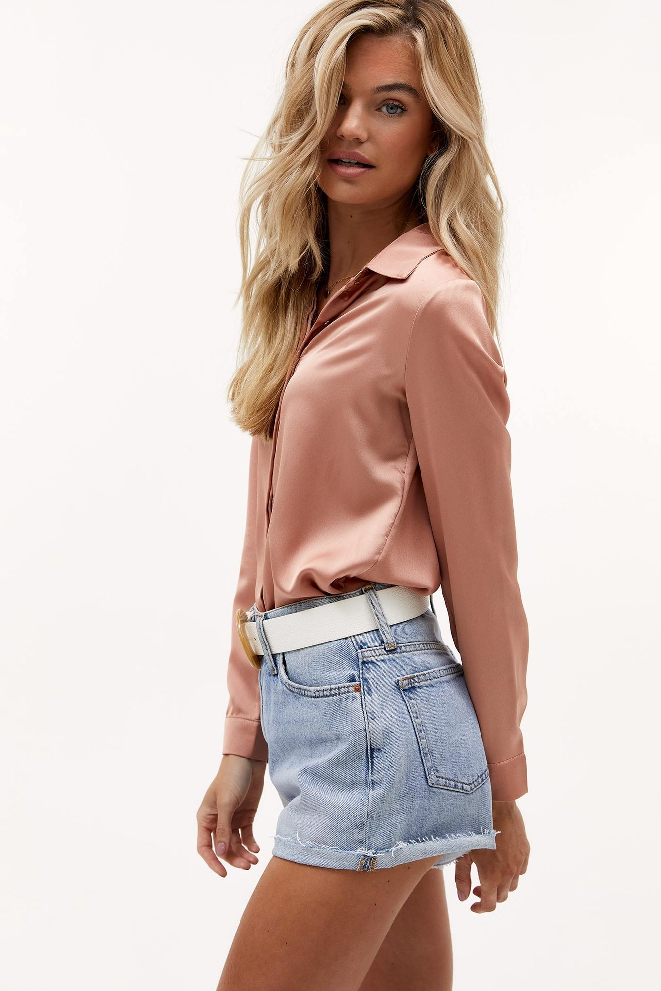 Blouse Nights in pink-3