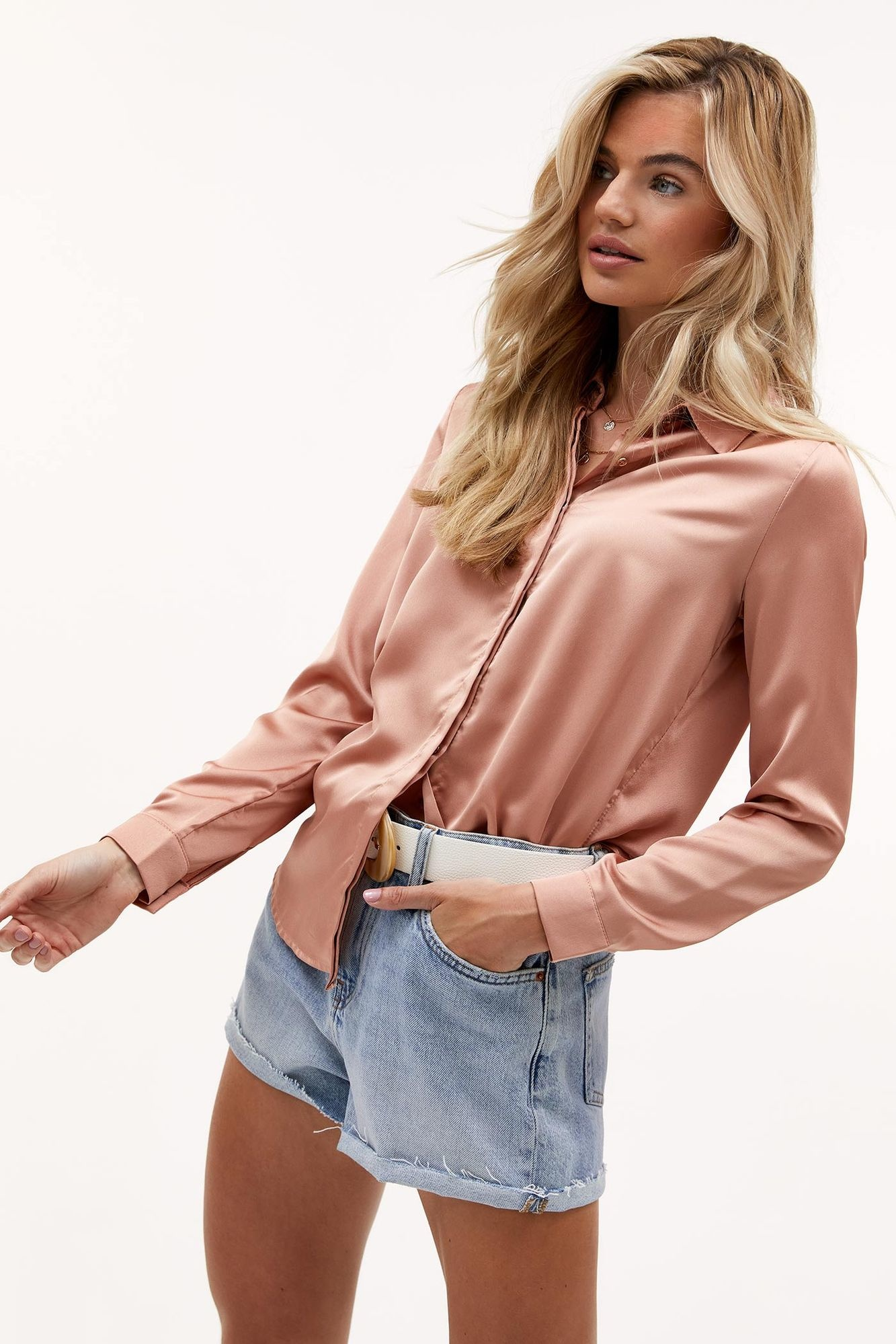 Blouse Nights in pink-5