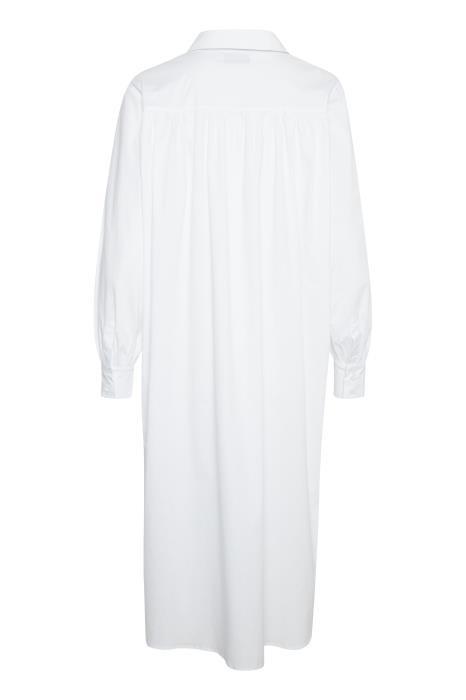 Jurk ElinLN Long Shirt snow White-2