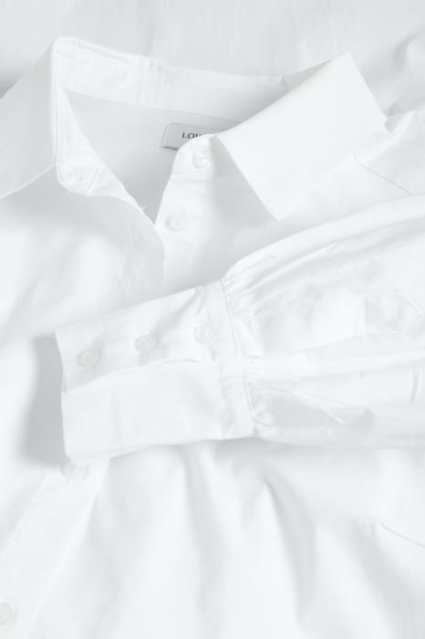 Jurk ElinLN Long Shirt snow White-3