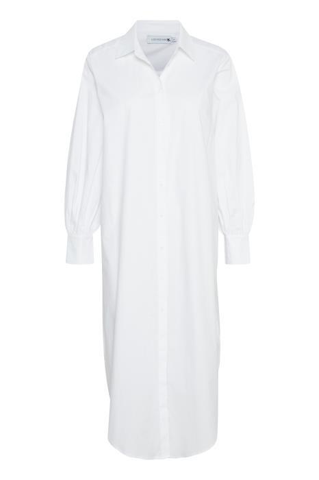 Jurk ElinLN Long Shirt snow White-1