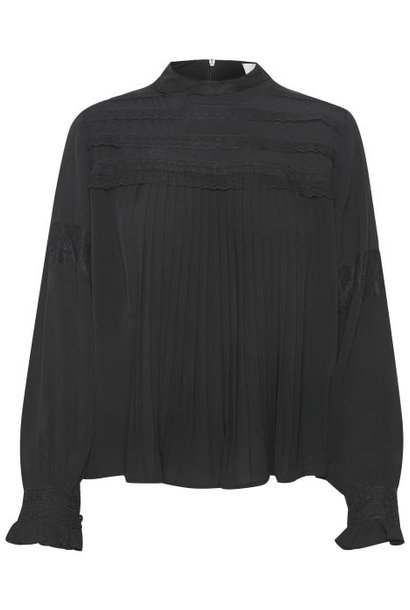 Blouse MillaCR Blouse Pitch Black