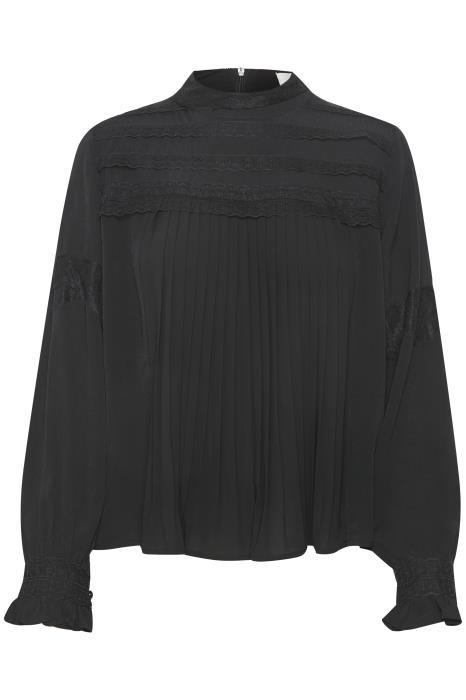 Blouse MillaCR Blouse Pitch Black-1