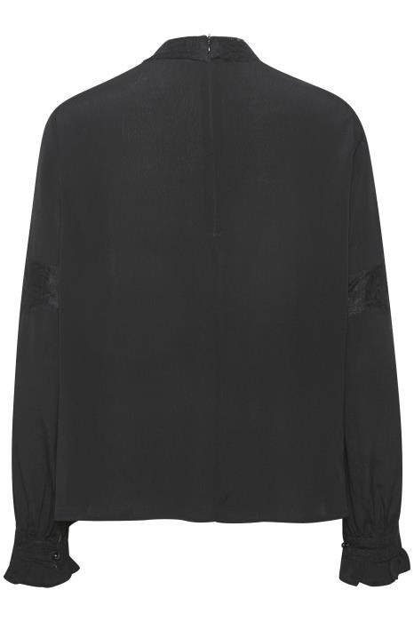 Blouse MillaCR Blouse Pitch Black-5