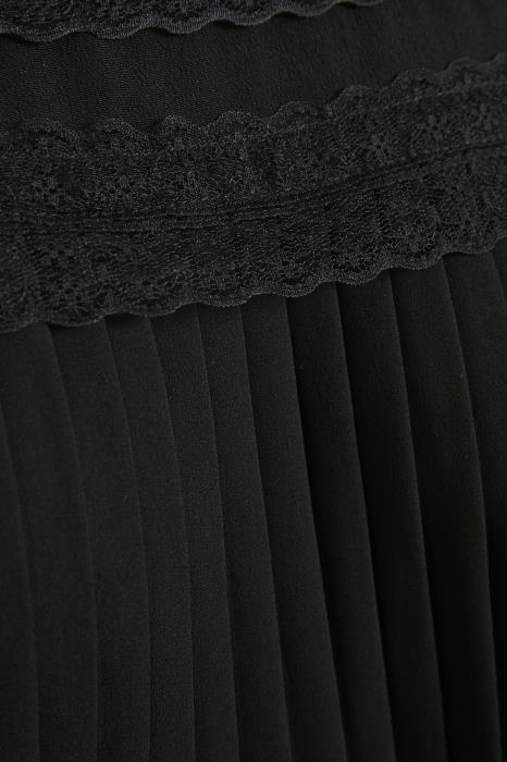 Blouse MillaCR Blouse Pitch Black-4