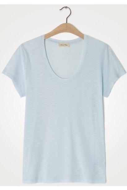 T-shirt Jacksonville Round Bleu dragee