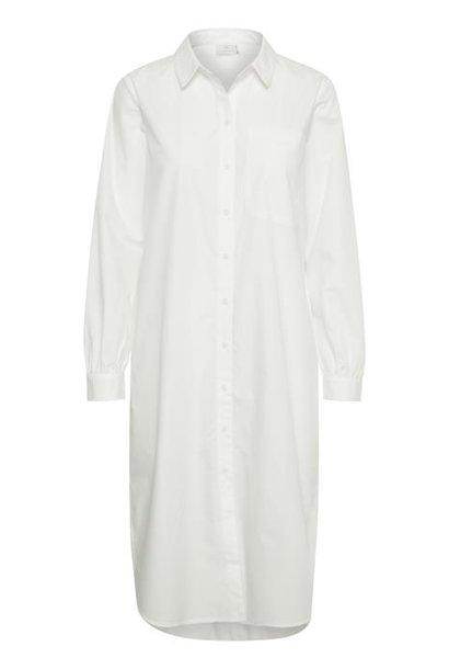 Jurk KAmerama Shirt Dress Chalk