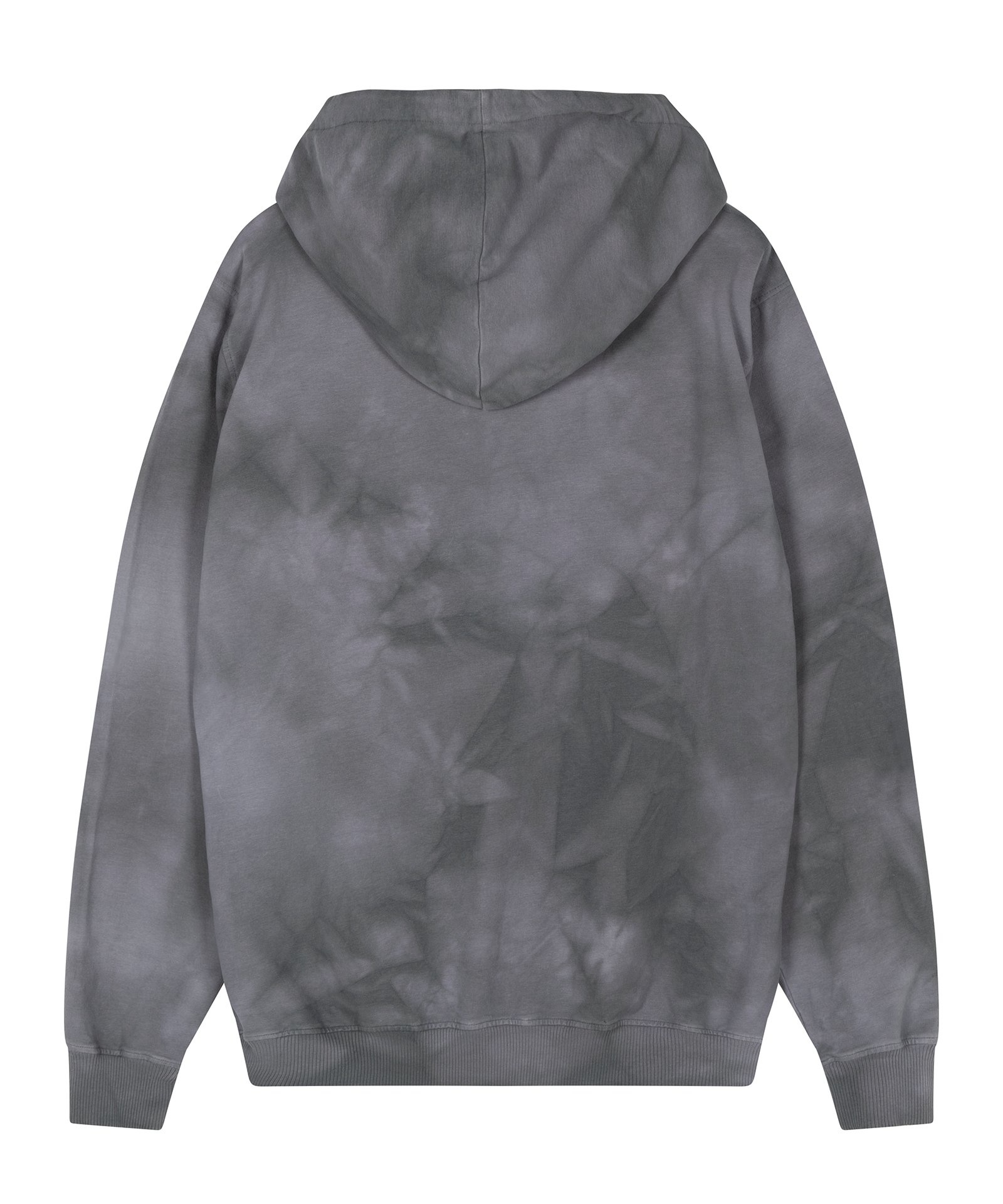 Trui Hoodie tie dye grey-7