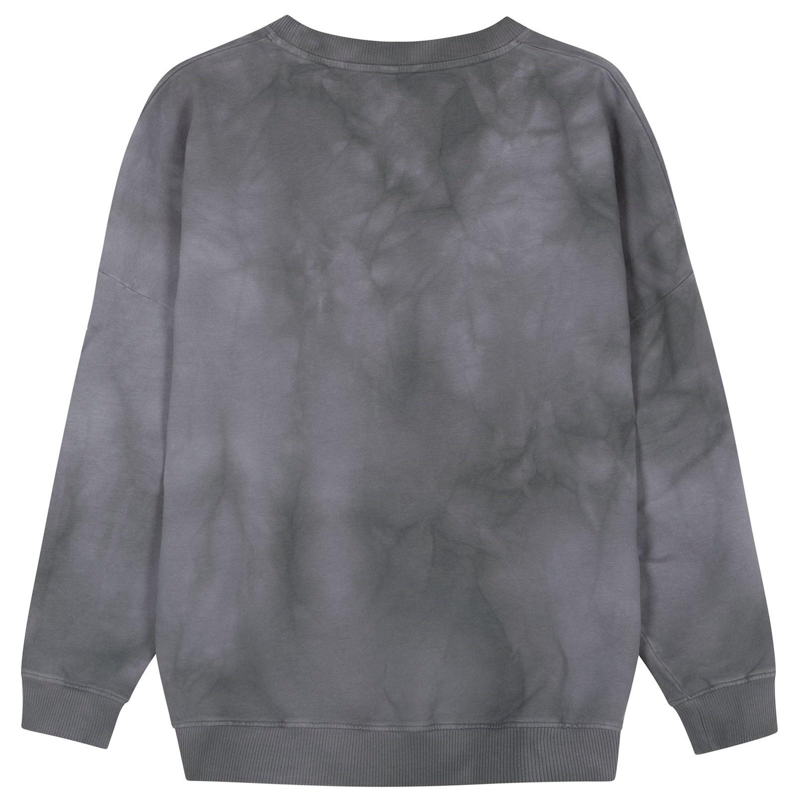Trui oversized sweater tie dye grey-4