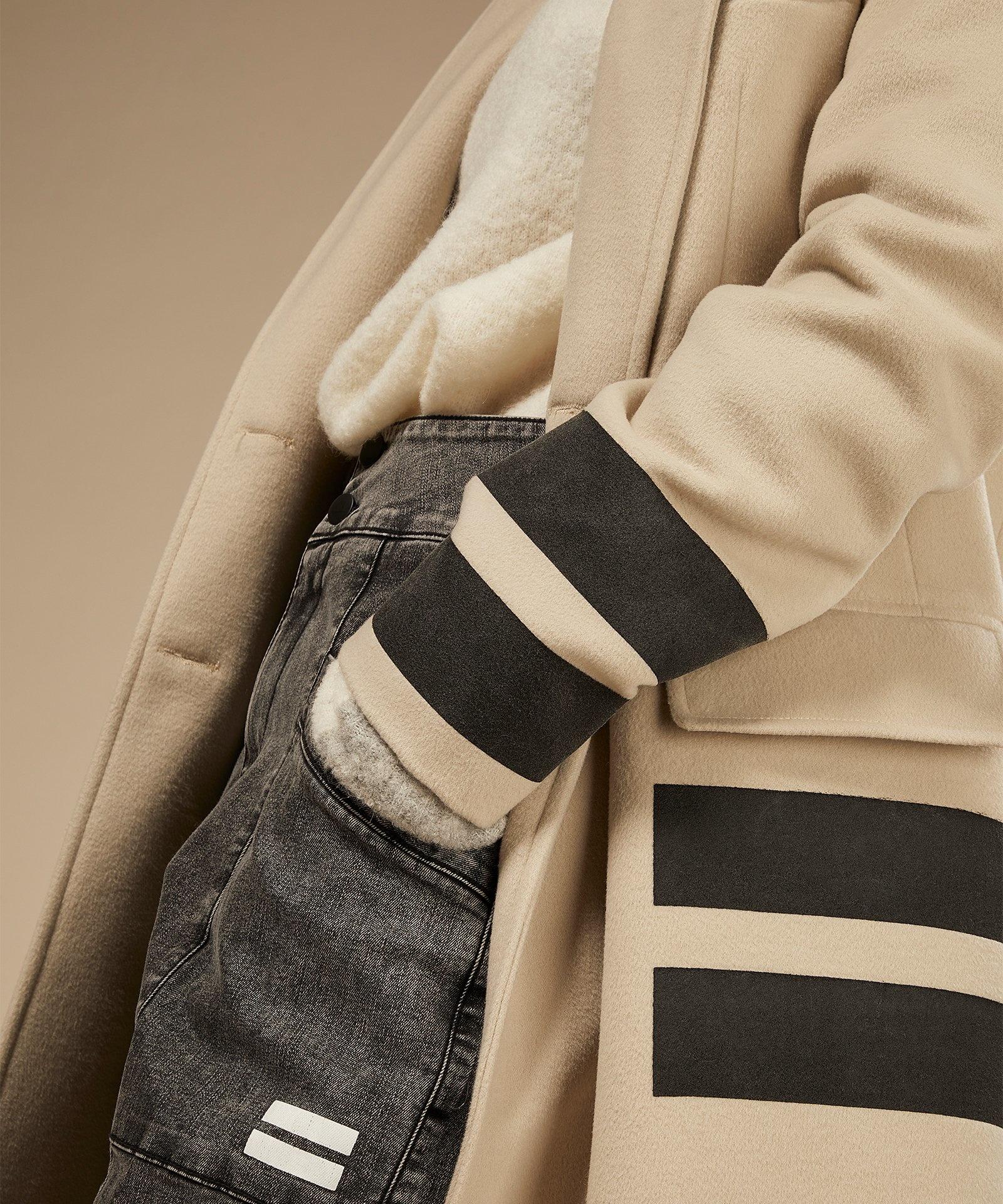 Trui reversible coll sweater ecru-4