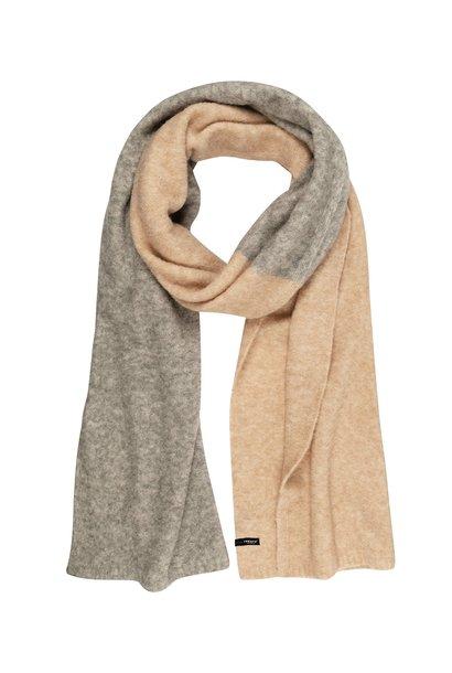 Sjaal double scarf safari