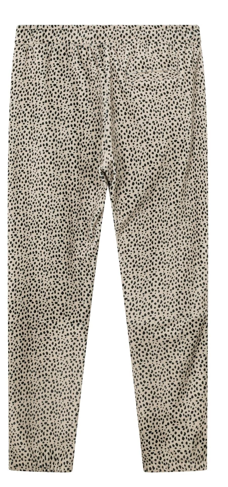 Broek cropped jogger safari-4