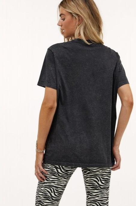 T-shirt Los angeles dark grey-2