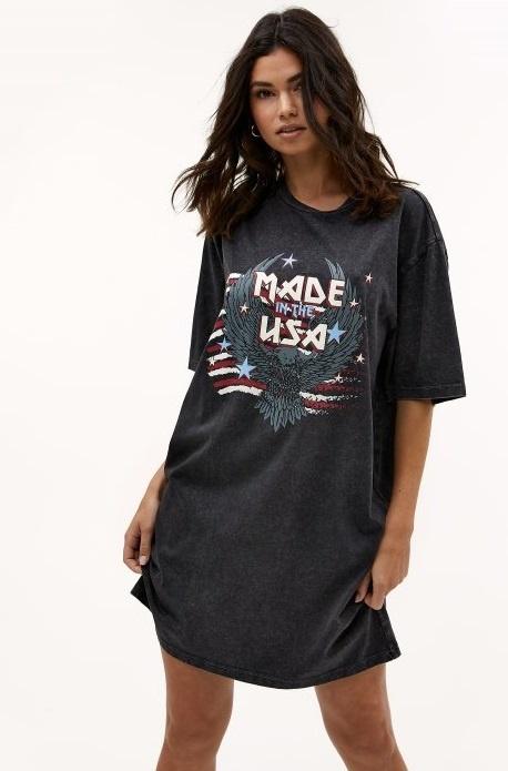 T-shirt jurk Stay Cool-1
