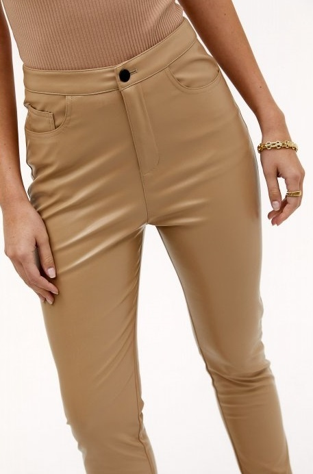 Broek In your eyes light brown-3