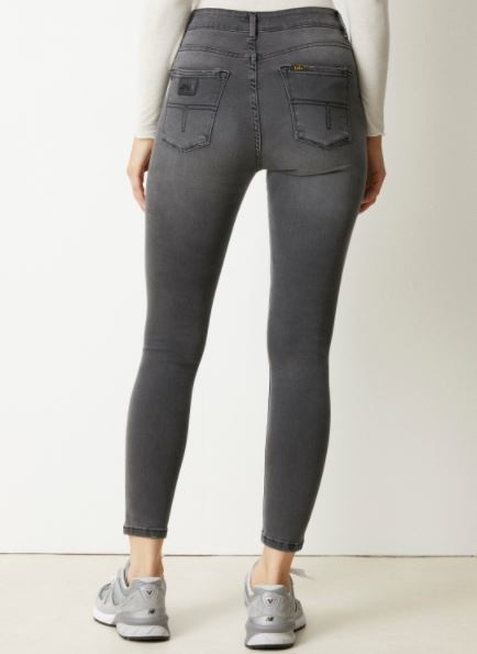Jeans Celia power black Lengte 34 grey stone-5