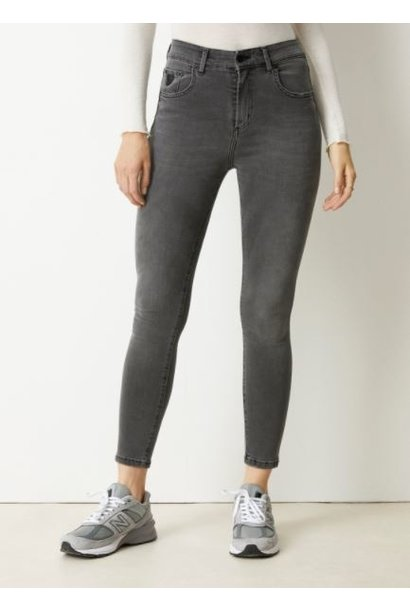 Jeans Celia power black Lengte 34 grey stone