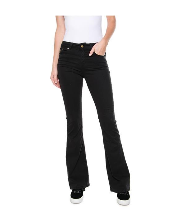 Jeans  Lea Soft Colour Raval 16 Lengte 34 black-5