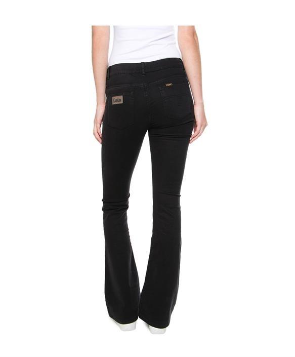 Jeans  Lea Soft Colour Raval 16 Lengte 34 black-6