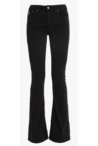Jeans  Lea Soft Colour Raval 16 Lengte 34 black