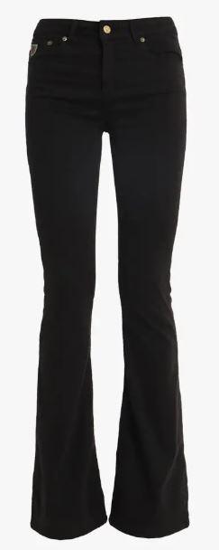 Jeans  Lea Soft Colour Raval 16 Lengte 34 black-1