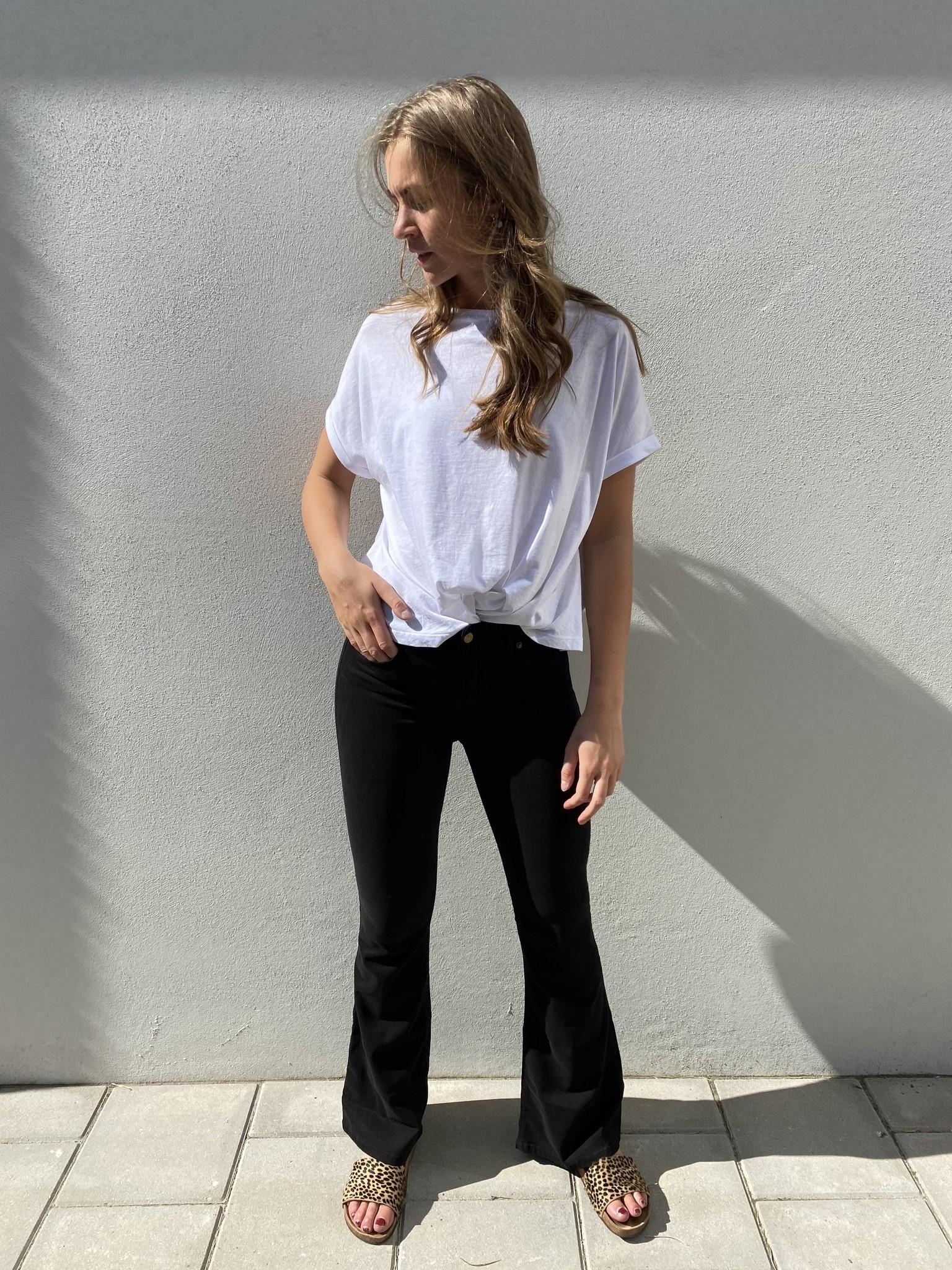 Jeans  Lea Soft Colour Raval 16 Lengte 34 black-2