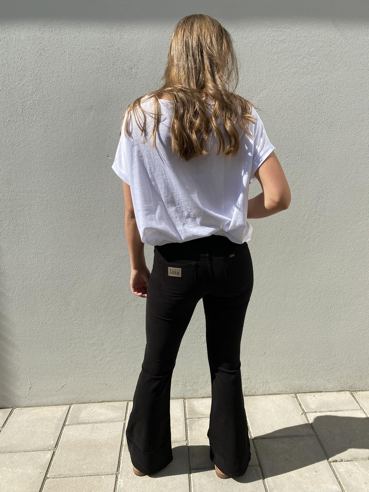 Jeans  Lea Soft Colour Raval 16 Lengte 34 black-4