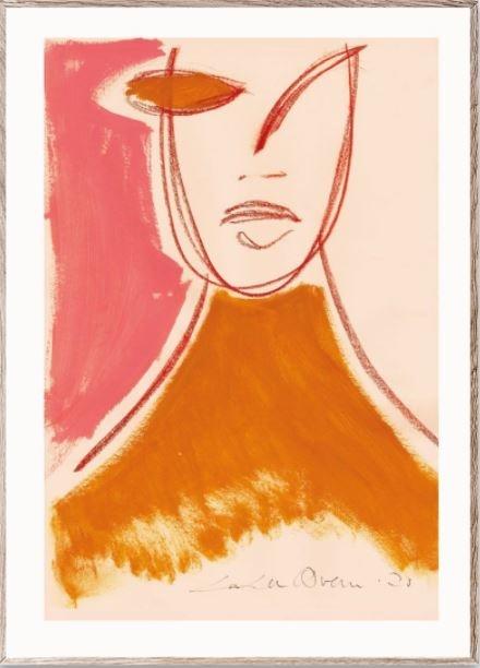 Poster Pink Portrait 50x70cm-1