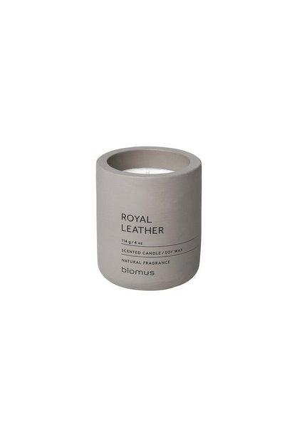 Kaars satellite Royal Leather 24H 6.5cm