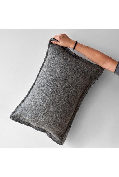 Kussen well grey 60 x 40 cm