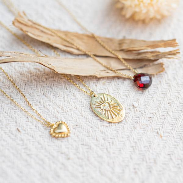 Ketting Wonderful Heartshine Gold Necklace-2