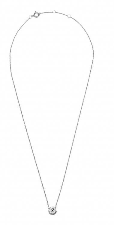 Ketting Character Necklace Letter Z Silver-3