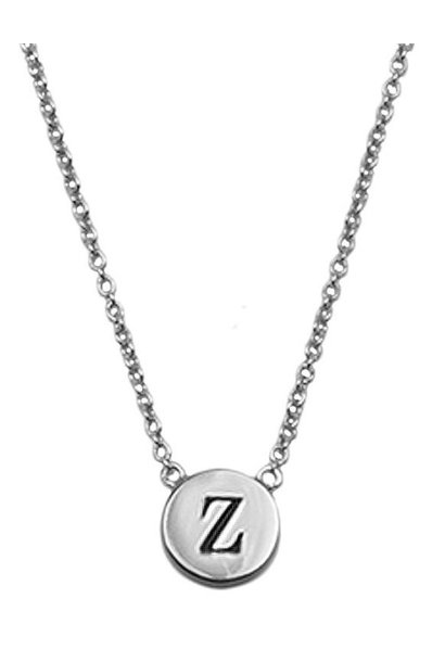 Ketting Character Necklace Letter Z Silver