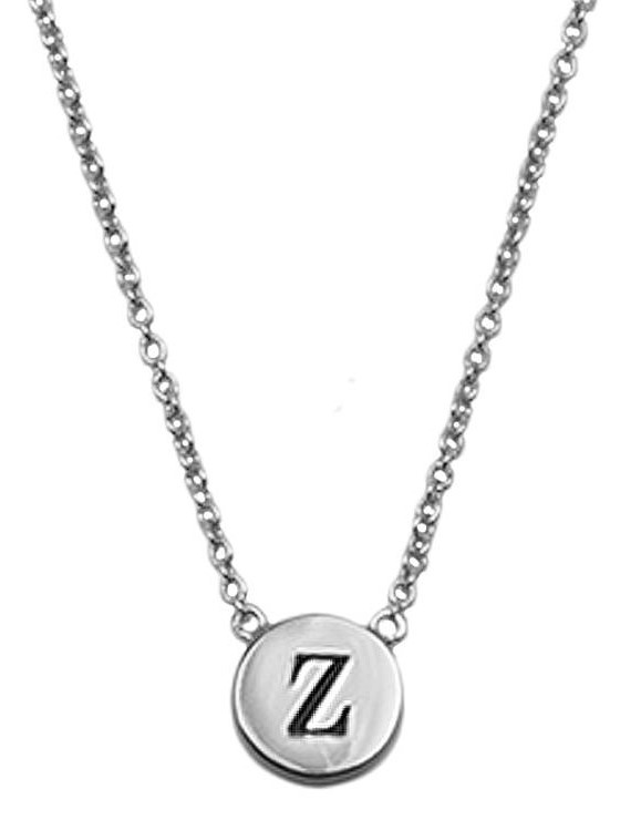 Ketting Character Necklace Letter Z Silver-1